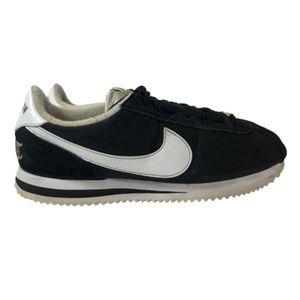 Nike Cortez 'Compton' Black Sneakers Men's Size 7.5 Women's Size 9